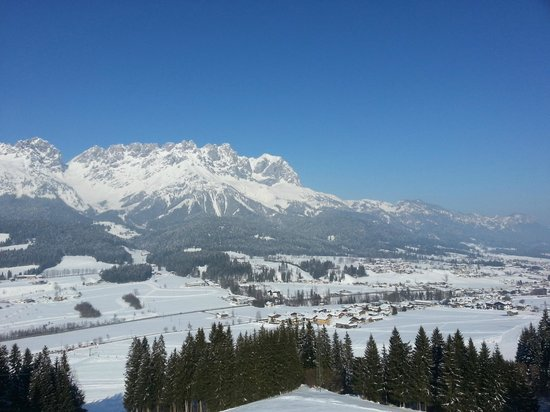 Wellness Schloss Panorama Royal:                   Skigebiet Ellmau-Going