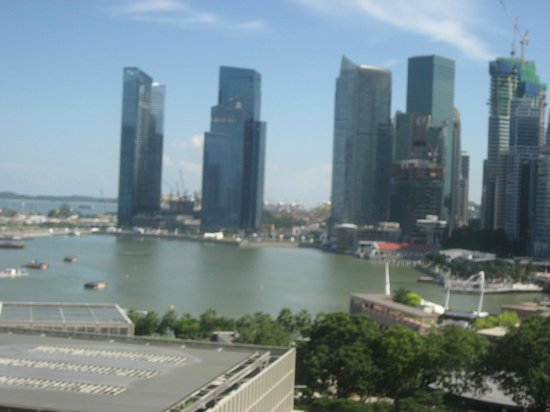 Marina Mandarin Singapore:                                     View from room