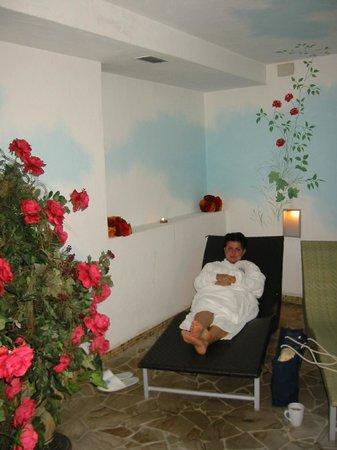 Leading Relax Hotel Maria:                   rilassarsi dopo una tisana