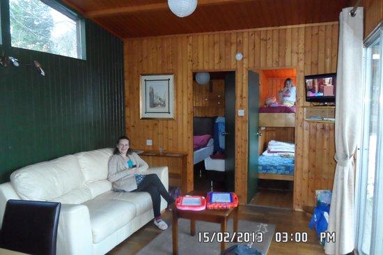 Altamount Chalets:                   living room