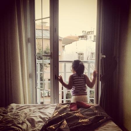 Hotel Broken Column:                   flotte værelser