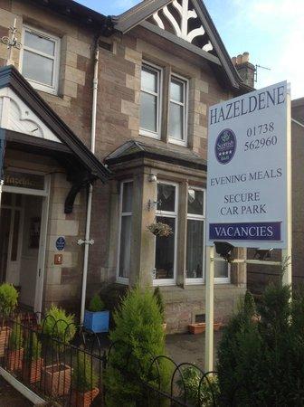 Hazeldene Guest House: Hazeldene entrance
