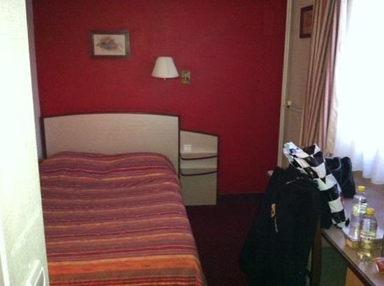 Hotel Vert-Galant :                   la chambre