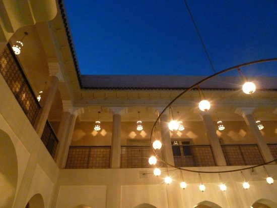 Riad Nashira & Spa:                                     Central courtyard