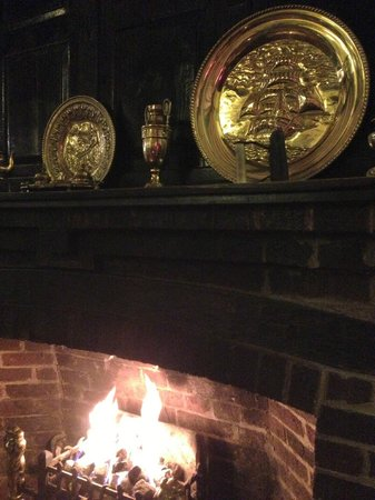 Castle Hotel:                                     Fireplace
