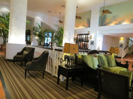 The Palms Hotel & Spa:                   interior hotel