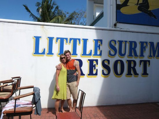 The Little Surfmaid Resort:                                     At the hotel