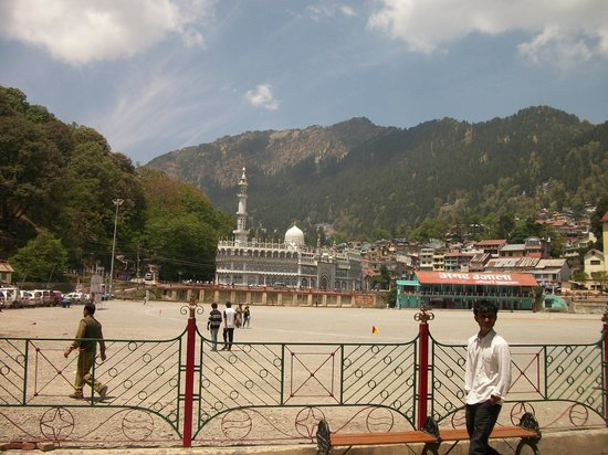 Nainital, Indien:                   GROUND AND MASJID