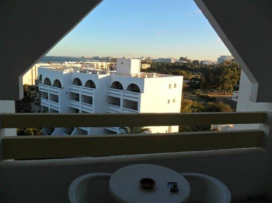 Marhaba Royal Salem:                                     view from my balcony
