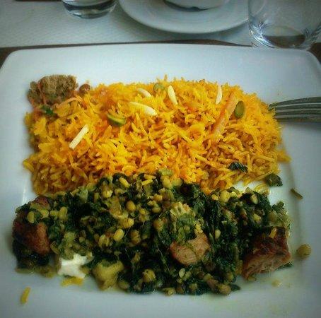 Afghan Cafe :                                                       Zamarode Palaw