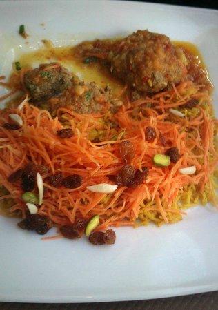 Afghan Cafe :                                                       Kofta
