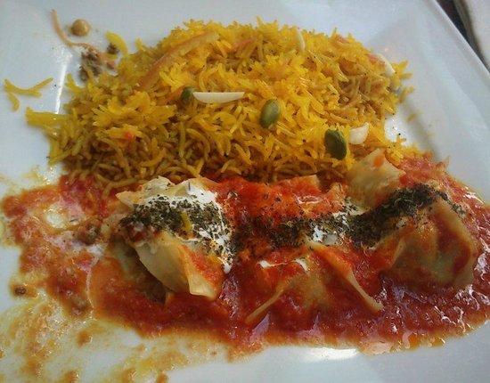 Afghan Cafe :                                                       Mantou