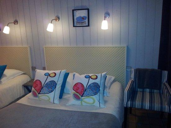 Hotel Monet: chambre avec 2 lits doubles