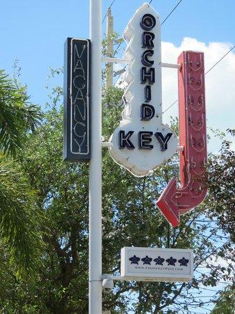Orchid Key Inn:                   entrada