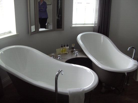 Monachyle Mhor:                   One of the bathrooms
