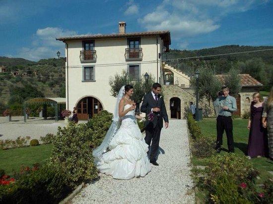 Villa Baroncino :                                     Wedding day
