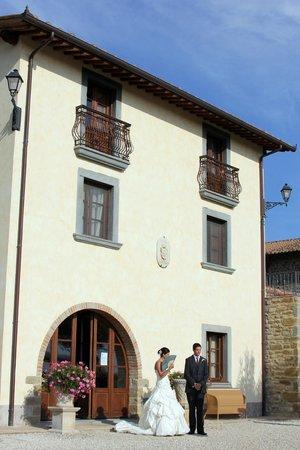 Villa Baroncino:                                     Wedding day