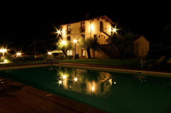Villa Baroncino:                                     Villa by night