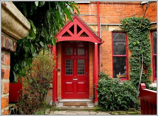 At Home London B&B:                   Main entrance