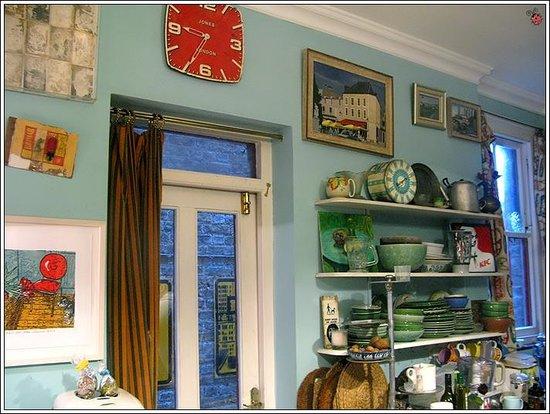 At Home London B&B:                   Kitchen