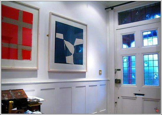 At Home London B&B:                   Art