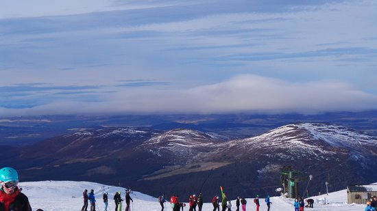 CairnGorm Mountain:                   great view from the mountain