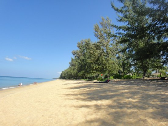 Renaissance Phuket Resort & Spa:                   nobody in the hotel beach