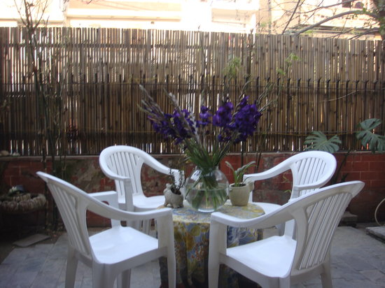 Tej Abode: Our Patio.