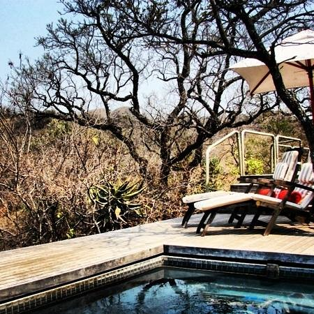 Nkomazi Game Reserve:                   outside our tent