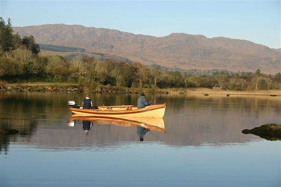Lough Eske Castle, a Solis Hotel & Spa: Fishing on Lough Eske