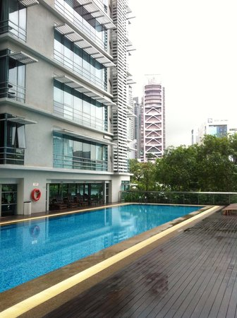 PARKROYAL Serviced Suites Kuala Lumpur:                   プール