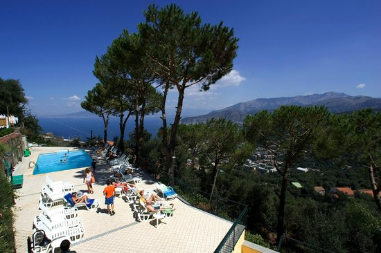 Panorama - Picture of Hotel Residence Le Terrazze, Sorrento ...