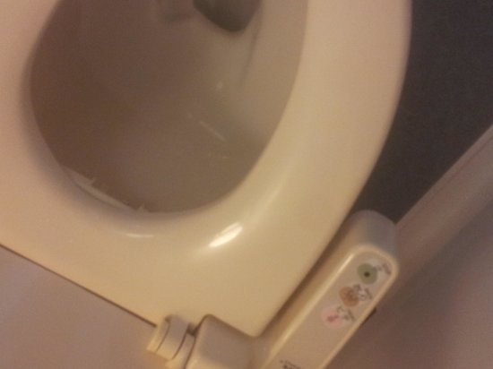 the b tokyo roppongi:                   the toilet.japanese cleanliness to the upmost