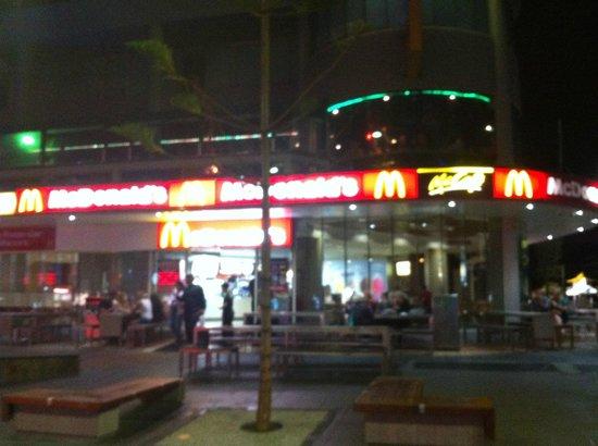 McDonald's:                                     outside view