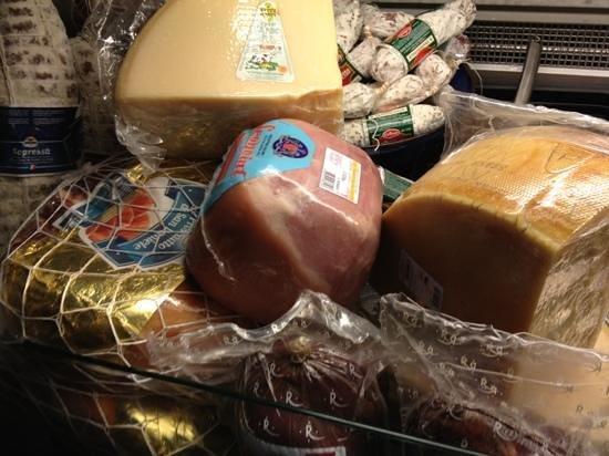 Pastanini:                   hams & cheeses
