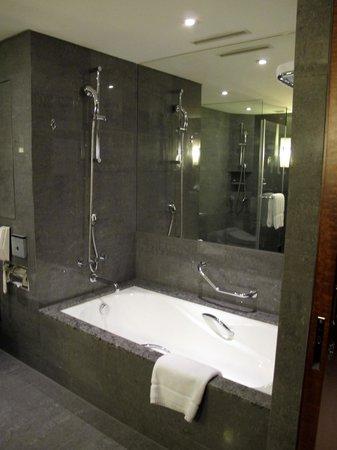 Sheraton Grand Taipei Hotel:                   The bath tub