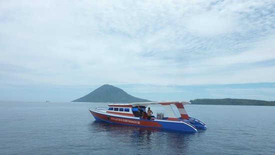 Raja Laut Dive Resort:                   The new big diving boat