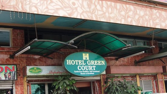 Hotel Green Court :                   Eingang