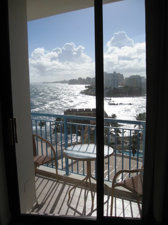 Caribe Hilton San Juan: View From Room
