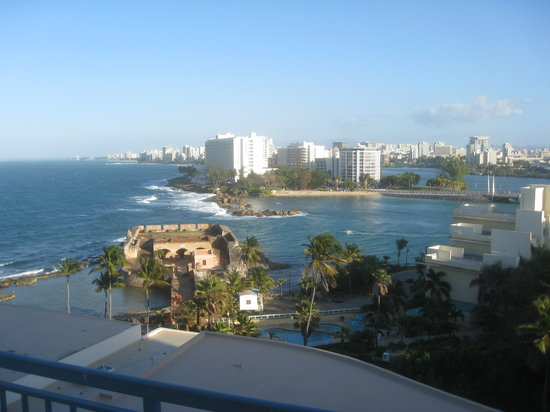Caribe Hilton San Juan: View From Deck