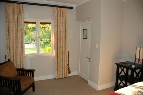 Sugarbird Manor:                   Zimmer zum Innenhof