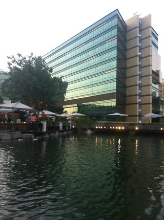 Jumeirah Creekside Hotel :                   View from the back