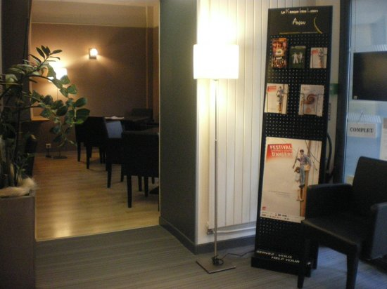 Hotel de l'Europe : Salon hôtel