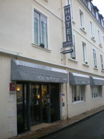 Hotel de l'Europe : Façade hôtel
