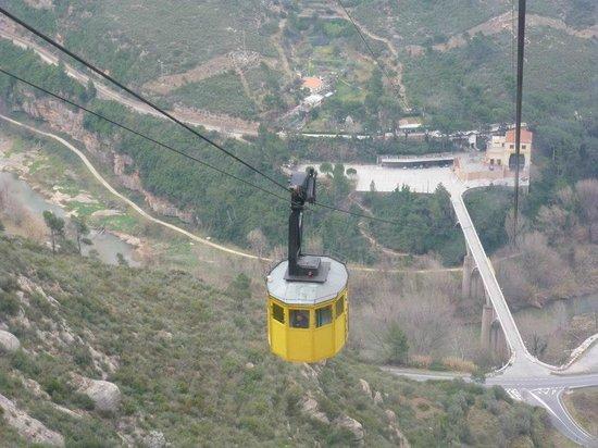 Hotel Indigo Barcelona - Plaza Catalunya:                   Cable car ride up to Montserrat Monastery