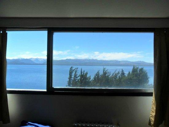 Hotel Plaza Bariloche:                   Vista desde la habitación 802