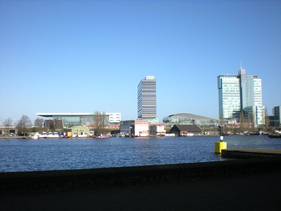 Movenpick Hotel Amsterdam City Center:                   Its the building in the middle