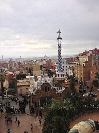 Hotel Indigo Barcelona - Plaza Catalunya:                   Park Guell Gaudi