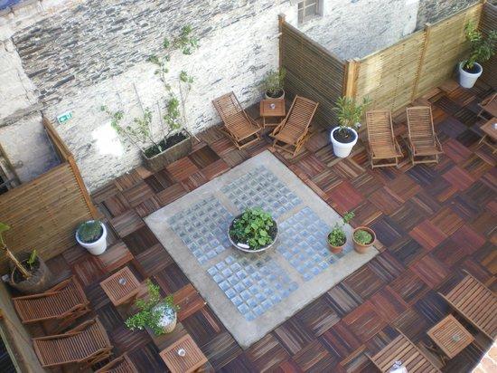 Hotel de l'Europe : Toit terrasse