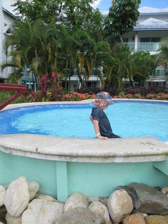 Grand Paradise Playa Dorada :                                     COLD JACUZZI
